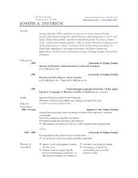 Best Resume Templates Word Impressive Good Resume Template Word Andaleco