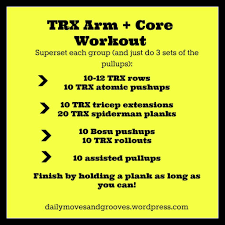 trx arms and abs workout