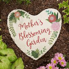 personalized garden stones mom s blossoming garden 20171