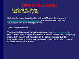 Smi Test Scores Chart Sri And Smi Training Please Log In Using The Following