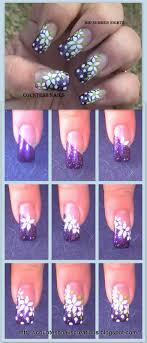 Mid Summer Nights Floral Nail Art Tutorial Entry | Simple Nail Art ...