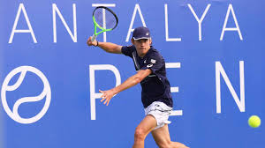 De minaur, who is seeking his first title on this surface to add to his four atp tour trophies, received a bye into the second round. Alex De Minaur Charges Into Antalya Quarter Finals Atp Tour Tennis