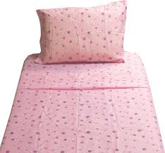 dotted flowers twin sheet set pink fl bedding contemporary kids bedding