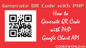 Google Charts Api For Qr Code Generator How To Generate Qr Code With Php Using Google Chart Api