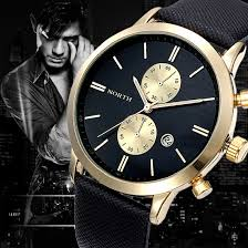 compare prices on accurate watches online shopping buy low price shipping 1pc fashion men fashion waterproof date watch leather military business watch accurate time dress watches