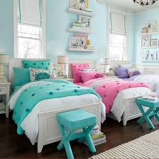 Bedroom, Exciting Cute Girl Rooms Room Ideas For Teenage Girl Girl Room  With White Beds
