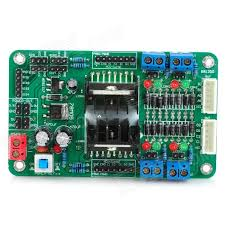 4 channels dc servo stepper motor driver module for arduino works with official arduino boards