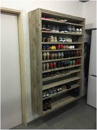 home design coat rack with shelf luxury giant shoe rack made out discarded pallets beautiful coat