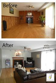 after unique painted wood panel walls before and after 6 intended paneled walls painted wood paneling before and after i