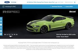 Mustang Designer The 2020 Ford Mustang R Spec For Australia Was Penned By