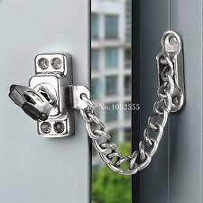 door chain locks. Wonderful Locks Hotsale Aluminum Alloy Doors U0026 Windows Security Chain Lock Children Safety  Protection Anti Theft Window Restrictor Lockin Locks From Home Improvement  To Door