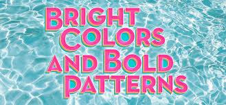 Bold Patterns