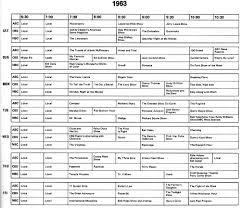 tv listings. 1963 tv programs.jpg (148737 bytes) tv listings