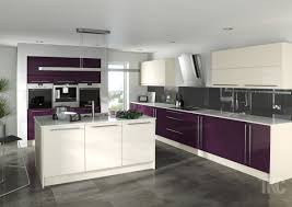 Purple Kitchen Purple And Cream Kitchen Ideas 7358 Baytownkitchen