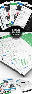 modern resume templates psd mockups bies graphic multi page resume psd template