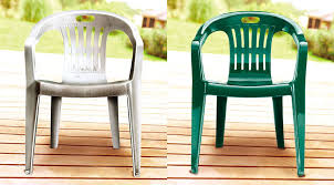 home project paint your plastic lawn chairs