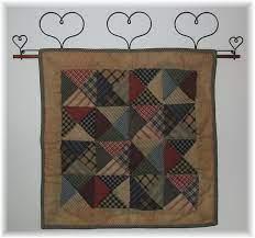 mini quilt hangers and quilt displays