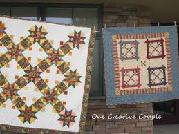 Airing of the Quilts Continued @ One Creative Couple & Again, thanks for visiting. I'll have more to share later. Also, thanks for  the comments I've received on these Airing of the Quilts posts. Adamdwight.com