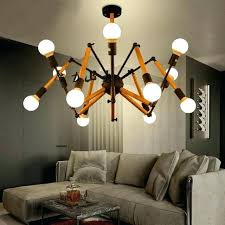 coffee shop lighting. Coffee Shop Pendant Lights Bar Lighting Flexible Solid Wood Lamp  Spider Simple Modern . M