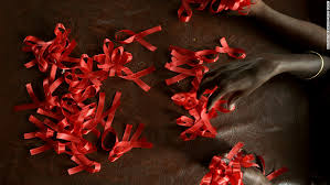 opinion wrong time to reverse course on hiv aids cnn hiv positive women in make red ribbons a symbol of hiv awareness and