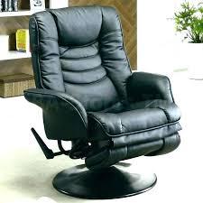 hughstin leather swivel glider recliner rocker furniture synergy