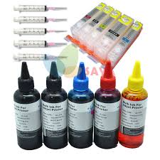 PGI 550BK <b>Empty refill ink</b> kit For Canon Pixma iP7250 MG5450 ...