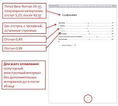 Основы информатики Проект Оформление реферата  Рисунок 17 Пример оформления содержания реферата