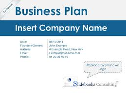 simple business model template simple business plan template by ex mckinsey consultants