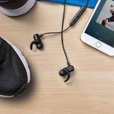 Tai Nghe Bluetooth Anker SoundBuds Slim – Tai nghe không dây thể thao  Bluetooth 4.1 âm thanh nổi nhẹ IPX có kết nối từ tính NANO, chống mồ hôi  với vỏ kim