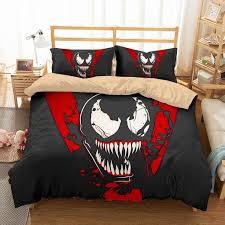 3D Customize <b>Venom Bedding Set</b> Duvet Cover Set <b>Bedroom Set</b> ...
