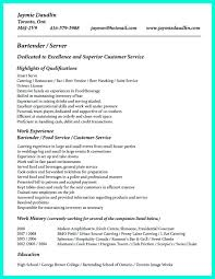 Amazing Server Skills Resume Gallery Resumes And Cover Letters