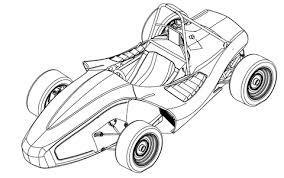 Disegni Di Auto Da Corsa Da Colorare Pagine Da Colorare Stampabili