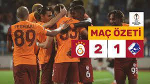 Geniş Özet | Galatasaray 2-1 Randers - UEFA Avrupa Ligi - YouTube