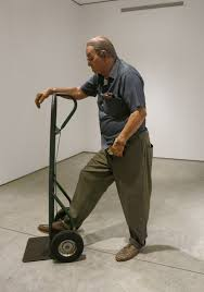 Duane Hanson's 'Man with Handtruck' at George Adams Gallery – new york art  tours