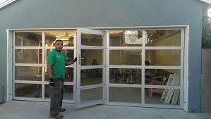 glass garage door restaurant. Aluminum Full View Glass Garage Doors On Restaurant Clear Door All