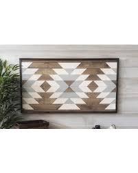 Wood Wall Art, Geometric Art, Boho Decor, Aztec Decor, Farmhouse Decor,