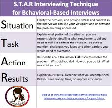 Star Interview Techniques Interview Like A S T A R Career Therapy