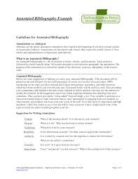 Annotated Bibliography HS scholarship letter