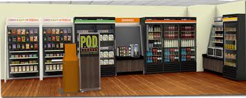 Aramark Vending Machines Awesome POD Micro Market Vending Healthy Snacks For Your Office