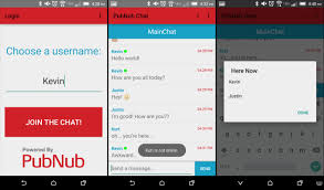 how to build an android group chat application pubnub pubchat