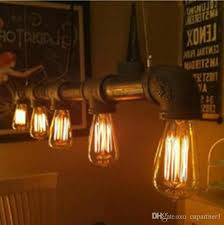 bar top lighting. Luxury Led Retro Antique Coffee Bar Top Pipe Lamp Edison E27 Droplight With Contracted Height Can Lighting