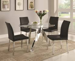 dining room table tall glass dining table glass top kitchen table sets small round dining table