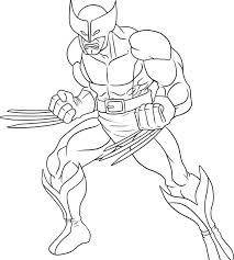 Marvel Characters Coloring Pages Coloring Page Superhero Printable
