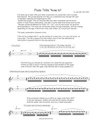 Flute Trills How To