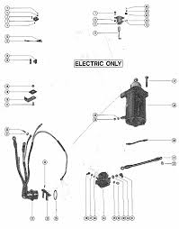 mercury marine model hp starter motor rectifier wiring engine section