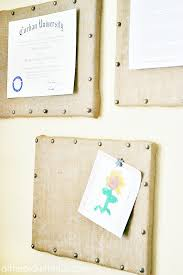 diy burlap bulletin board gallery wall atthepicketfence com
