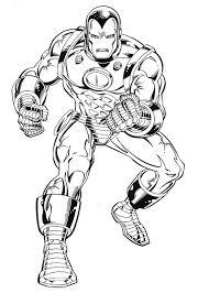 Disegni Da Colorare Iron Man Gratis Fredrotgans
