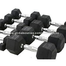 Rubber Coated Hex Dumbbell Set With Rack Cool Rubbercoated Hex Dumbbell Set Made Of 32% Virgin Rubber And