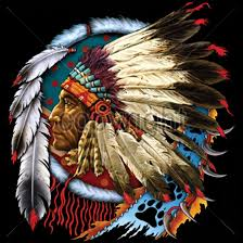 Indian Chief Dream Catcher Beauteous Native American Indian Chief Dream Catcher Feathers Trippy Cool T