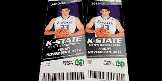K State Basketball Seating Chart K State Vs North Dakota Basketball Manhattan Ks Rental Property